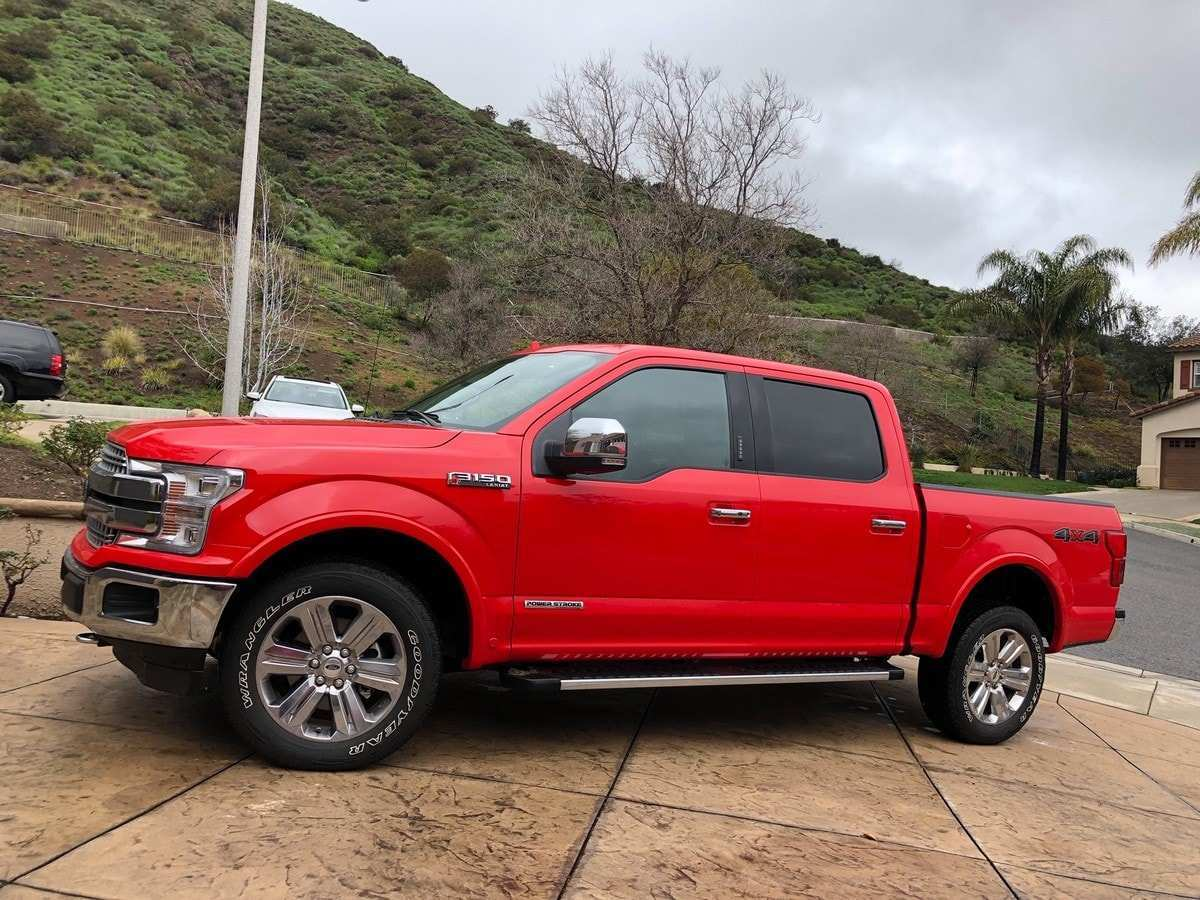 84 A 2019 Ford F150 Exterior