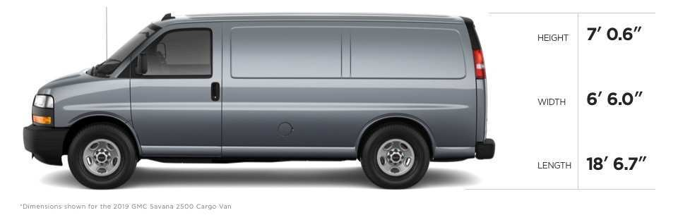 84 A 2019 GMC Savana Pricing