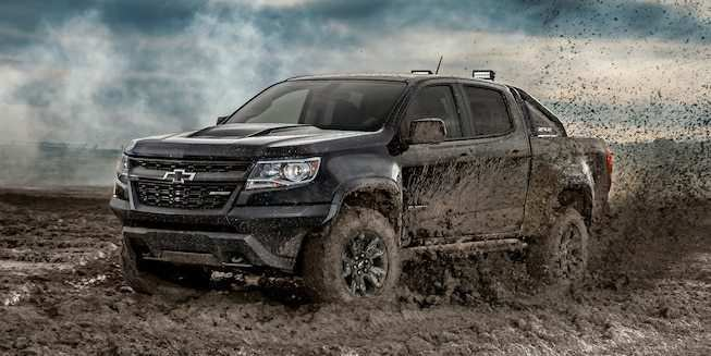84 A 2020 Chevrolet Colorado Z72 Exterior