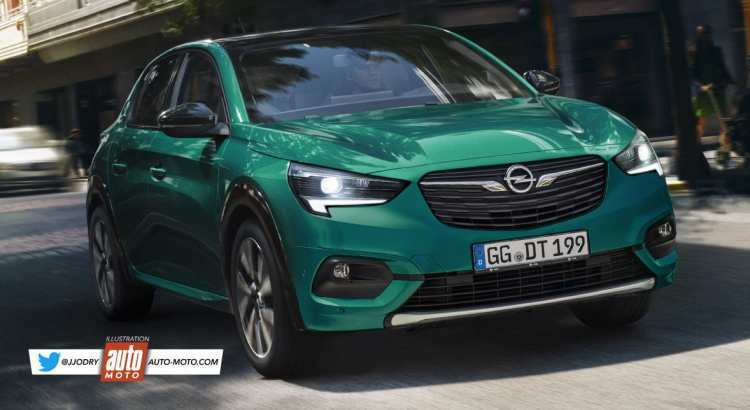84 A Future Opel Corsa 2020 Overview