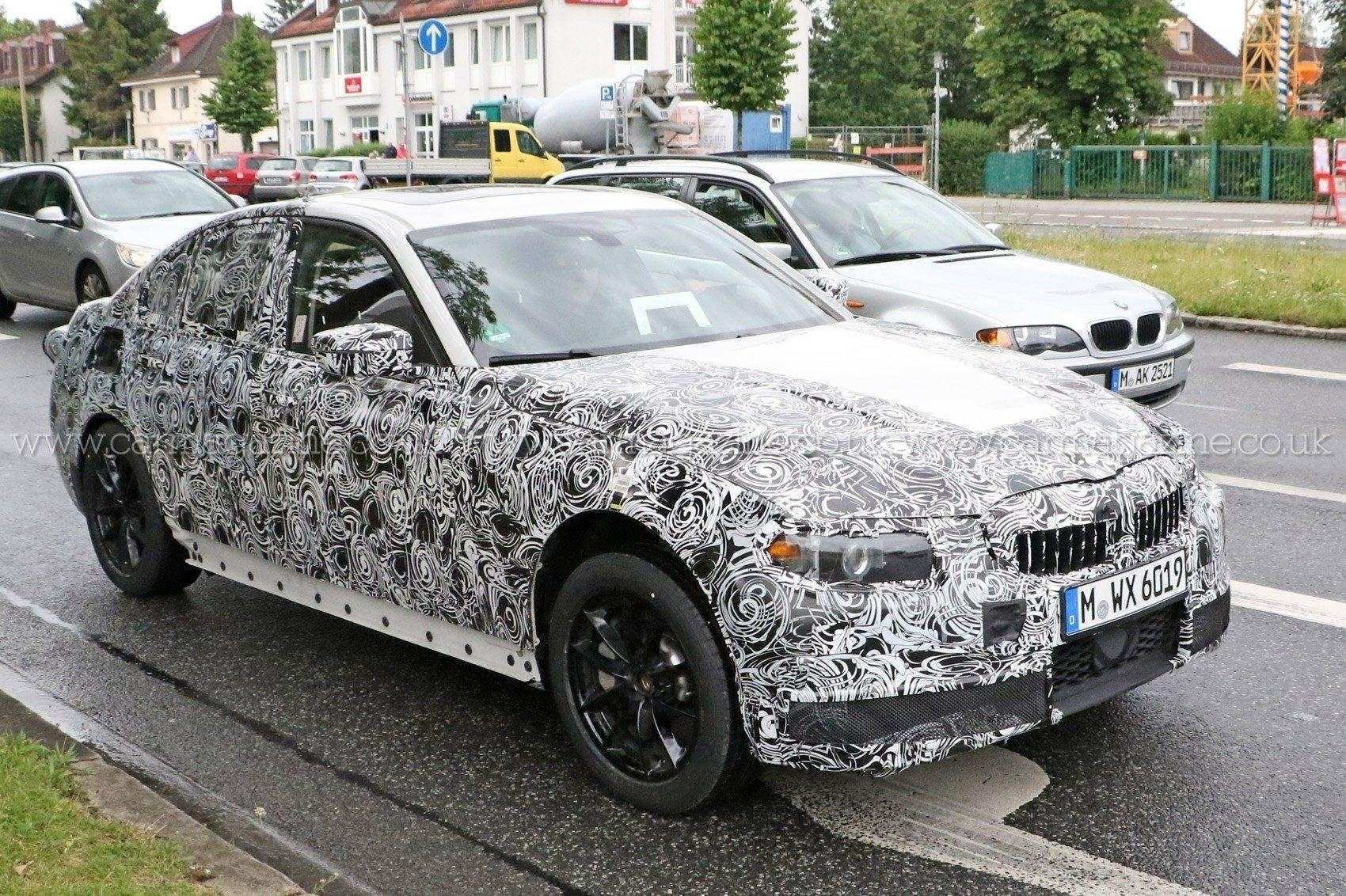 84 All New 2019 BMW 3 Series Edrive Phev Spy Shoot