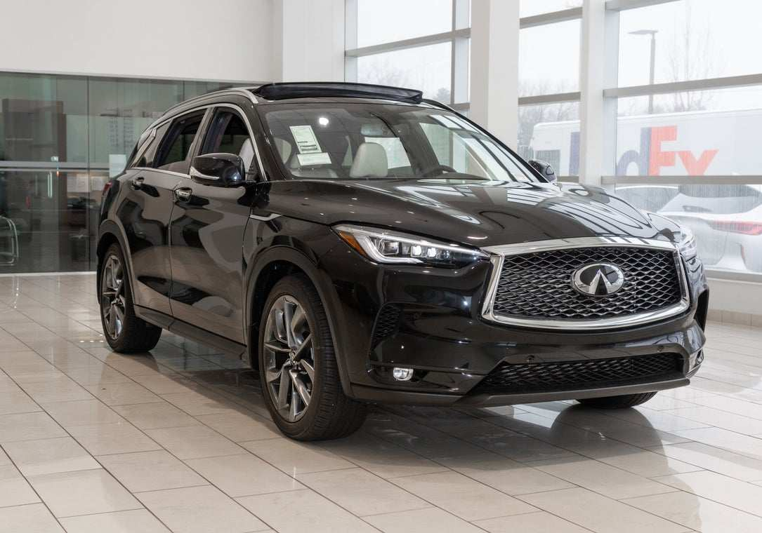 84 All New 2019 Infiniti Qx50 Black Speed Test
