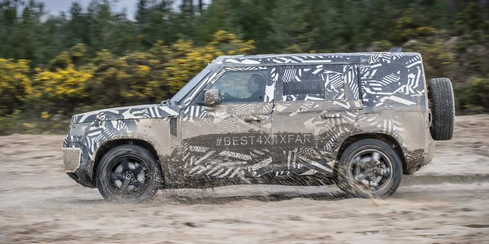 84 All New 2019 Land Rover Defender Release Date And Concept