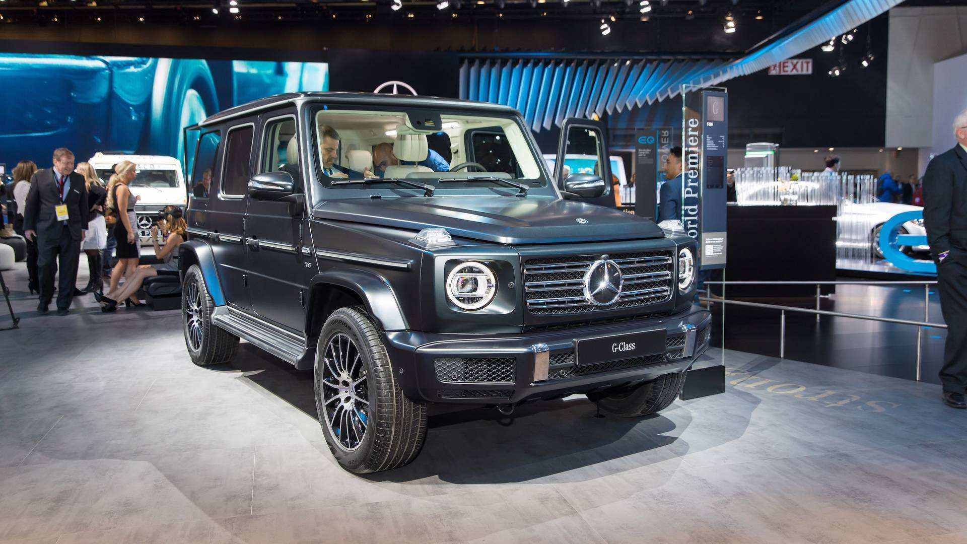 84 All New 2019 Mercedes G Class Performance And New Engine