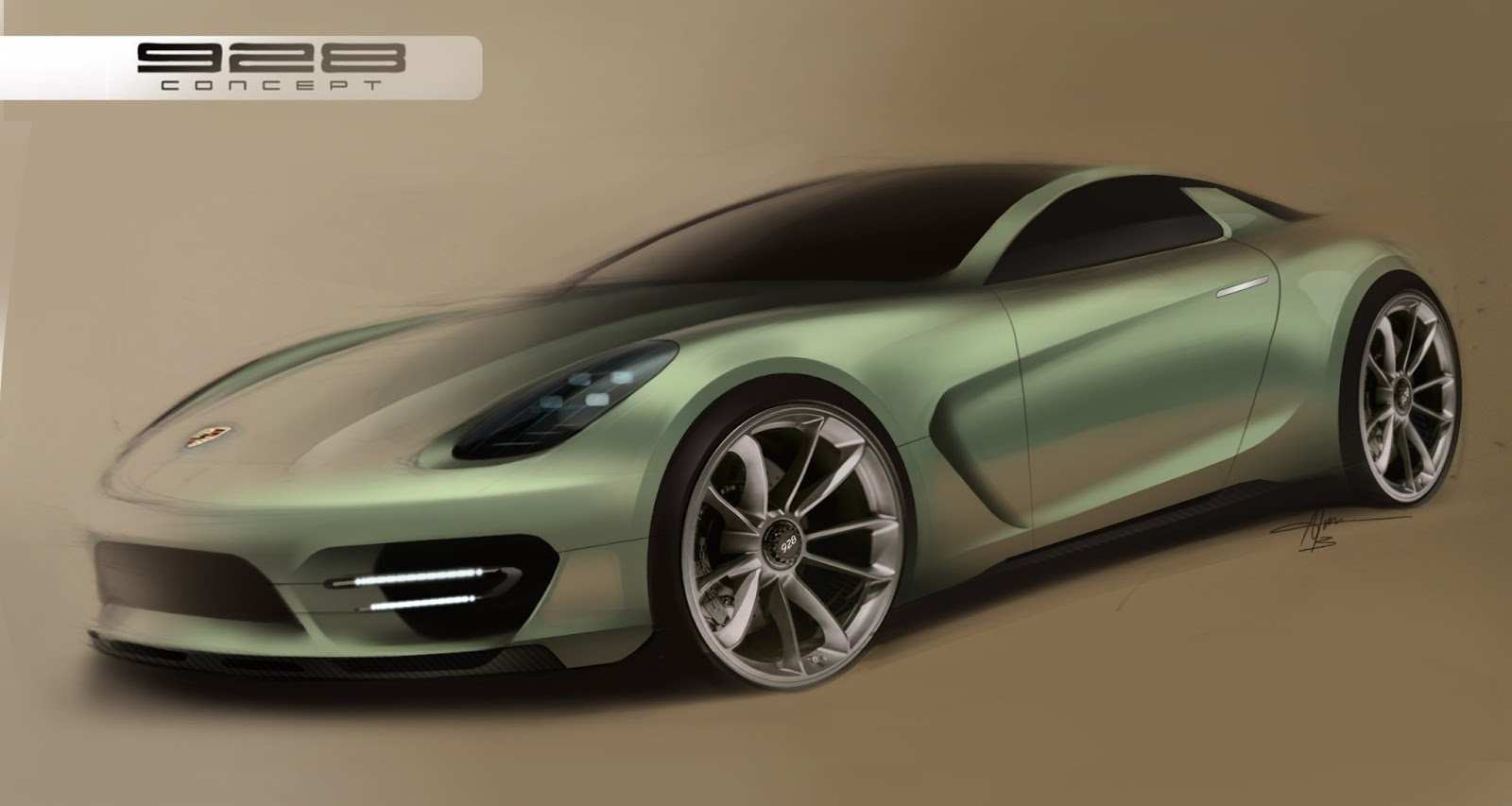 84 All New 2019 Porsche 928Concept New Model And Performance