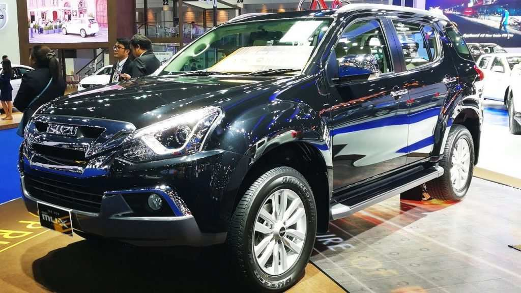 84 All New 2020 Isuzu MU X First Drive