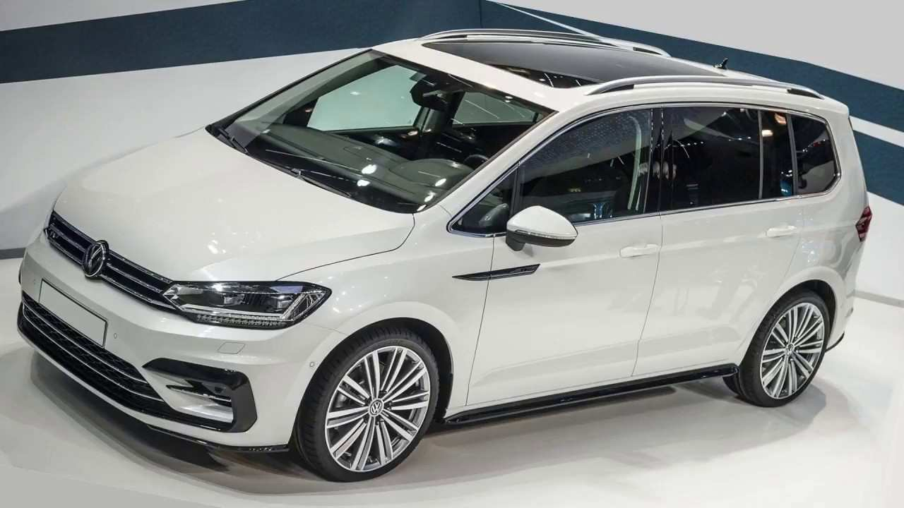 84 All New 2020 VW Touran First Drive