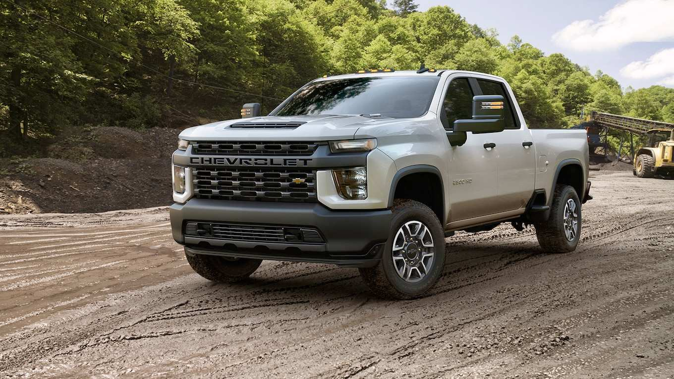84 Best 2020 Chevy Silverado Hd Interior