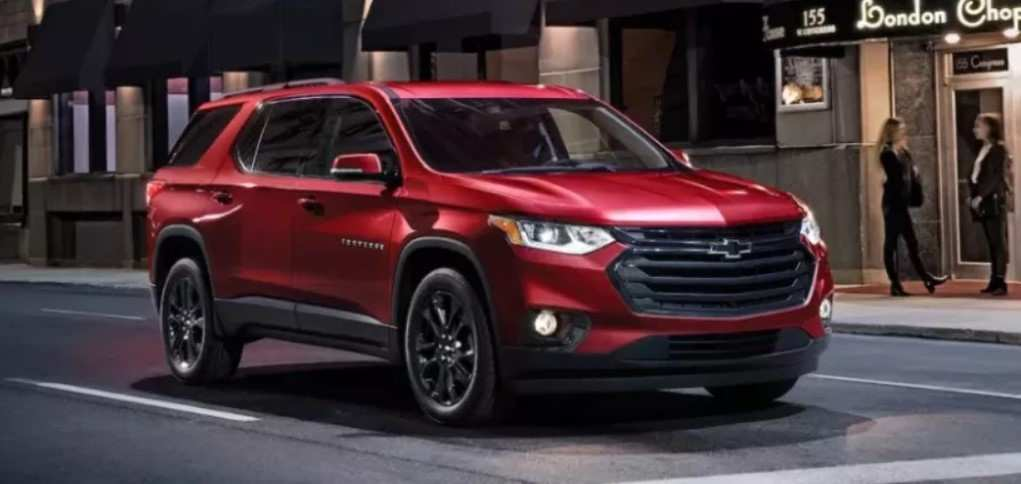 84 Best 2020 Chevy Traverse Redesign And Concept