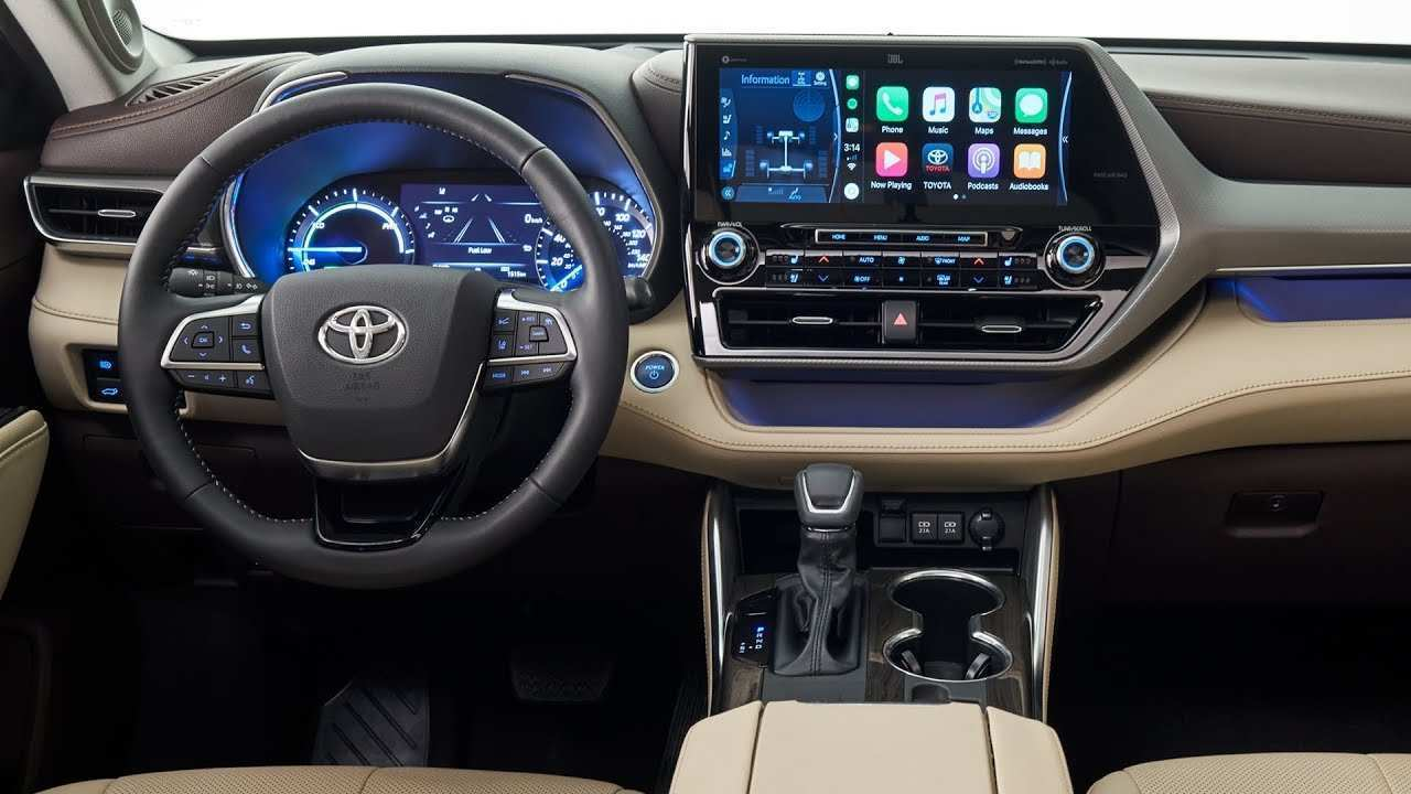 84 Best Toyota Highlander 2020 Interior Release Date And Concept