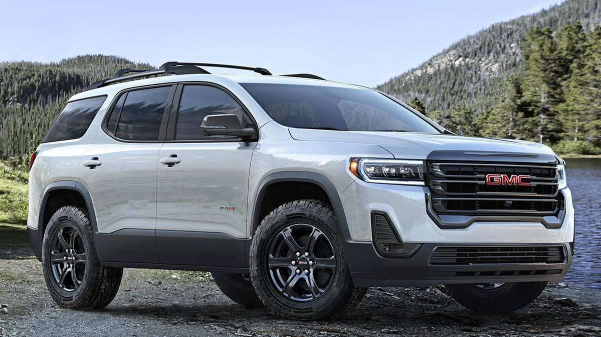 84 New 2019 Vs 2020 GMC Acadia Concept And Review