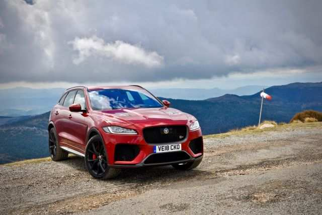 84 New Jaguar F Pace Svr 2020 Concept And Review