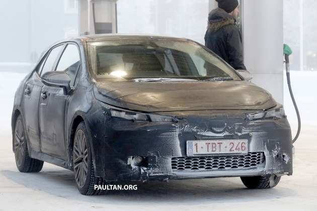 84 The 2019 New Toyota Avensis Spy Shots Spy Shoot