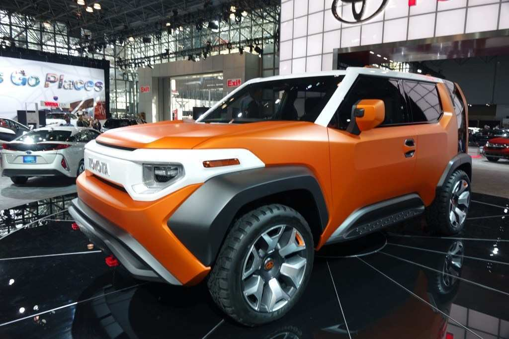 84 The 2019 Toyota FJ Cruiser Exterior