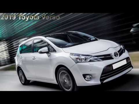 84 The 2019 Toyota Verso Overview