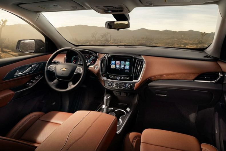 84 The 2020 Chevrolet Traverses Interior
