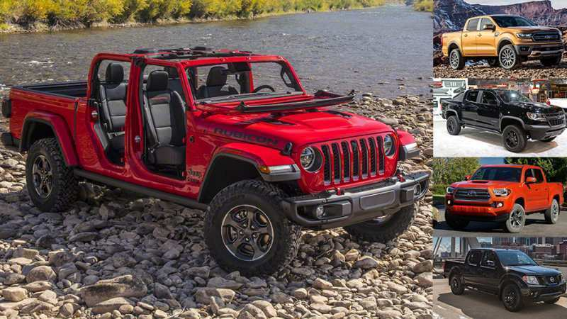 84 The 2020 Jeep Gladiator Vs Toyota Tacoma Engine