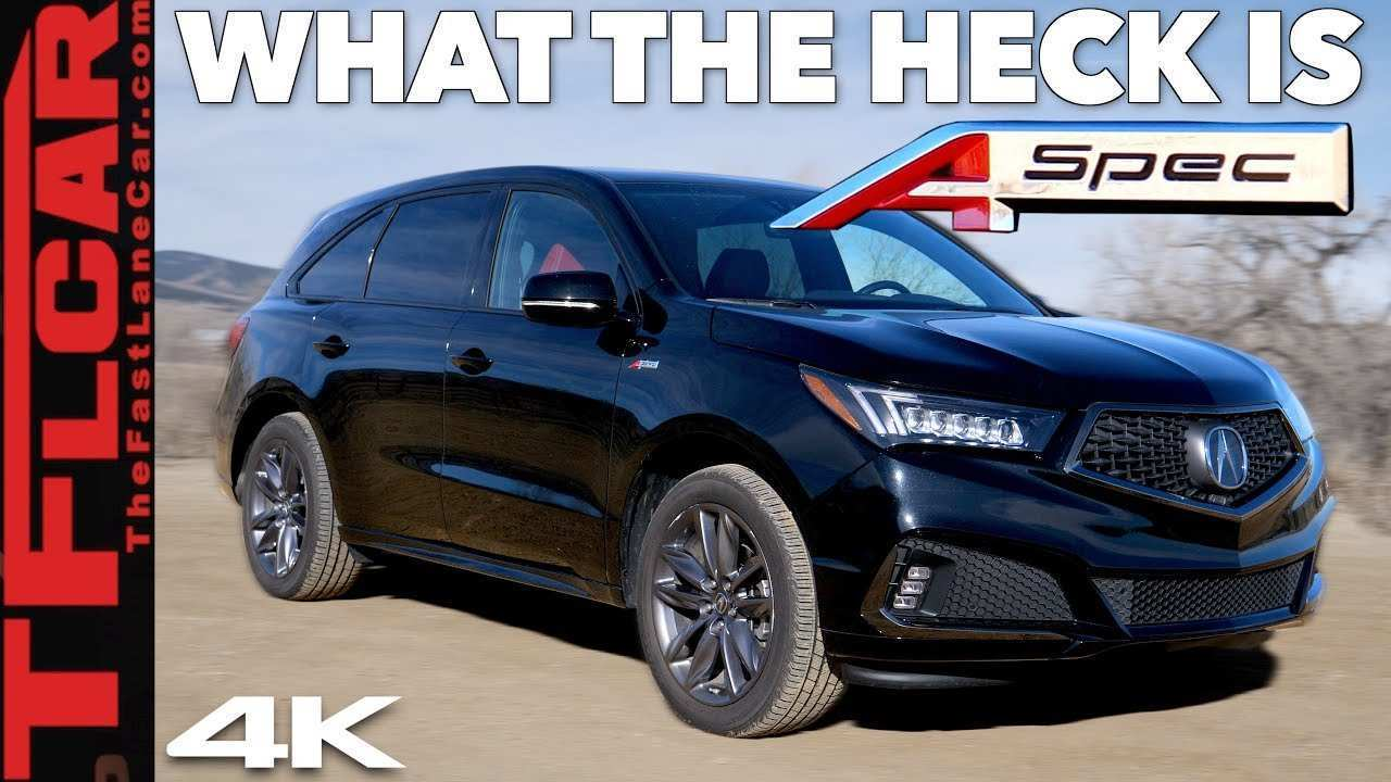 84 The Best 2020 Acura Mdx Aspec Overview