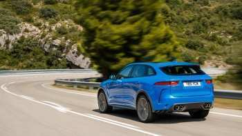 84 The Jaguar F Pace Svr 2020 Release