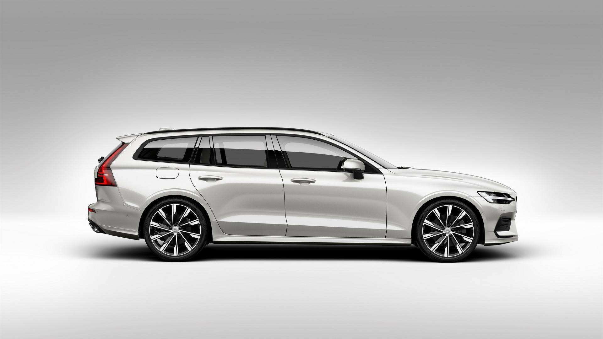 84 The Volvo V60 2019 Dimensions Model