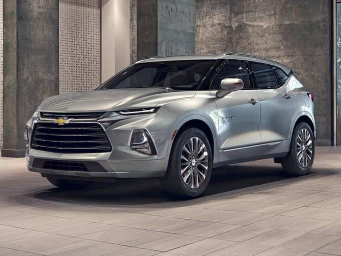 85 A 2019 Chevy Trailblazer Ss Photos