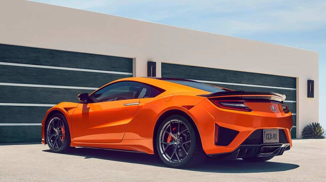 85 A 2019 Honda Nsx Performance