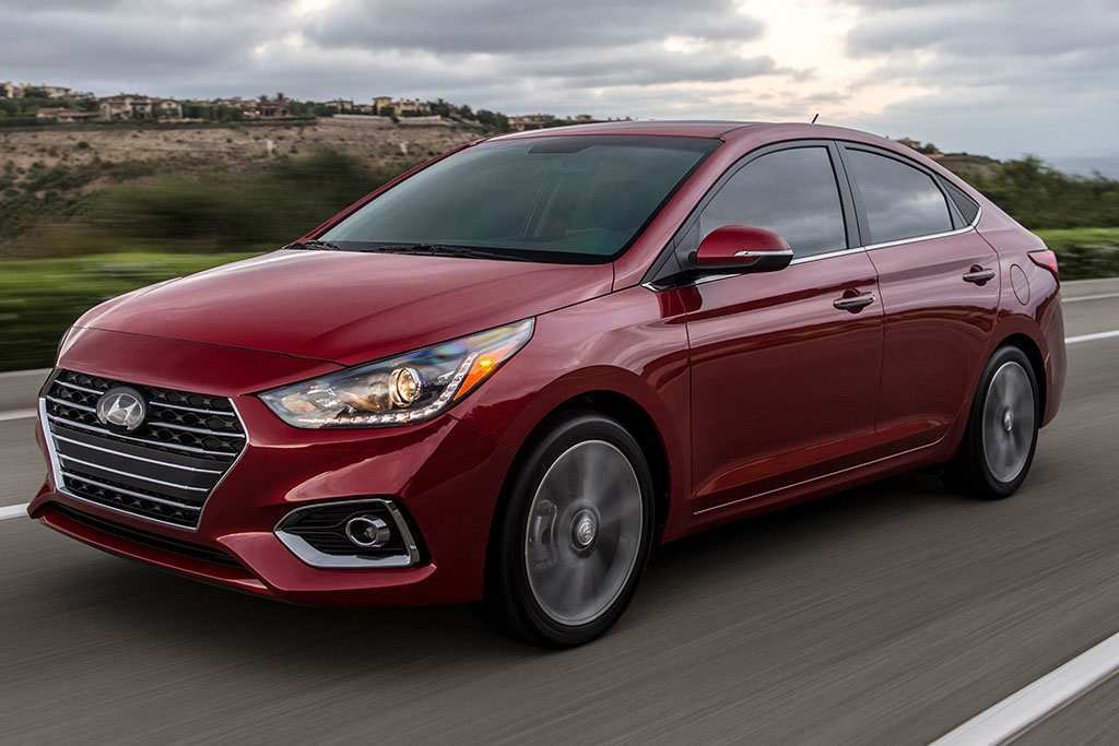 85 A 2019 Hyundai Accent Price Design And Review