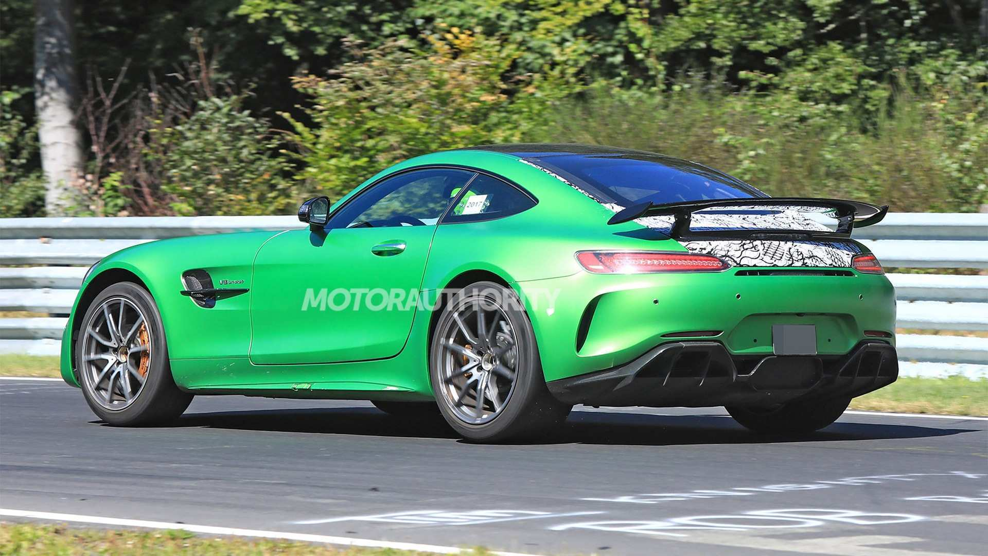 85 A 2019 Mercedes AMG GT Engine