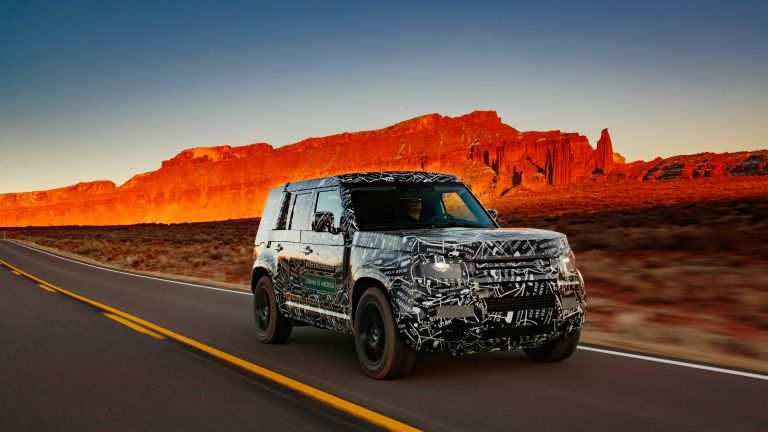 85 A 2020 Land Rover Defender Picture