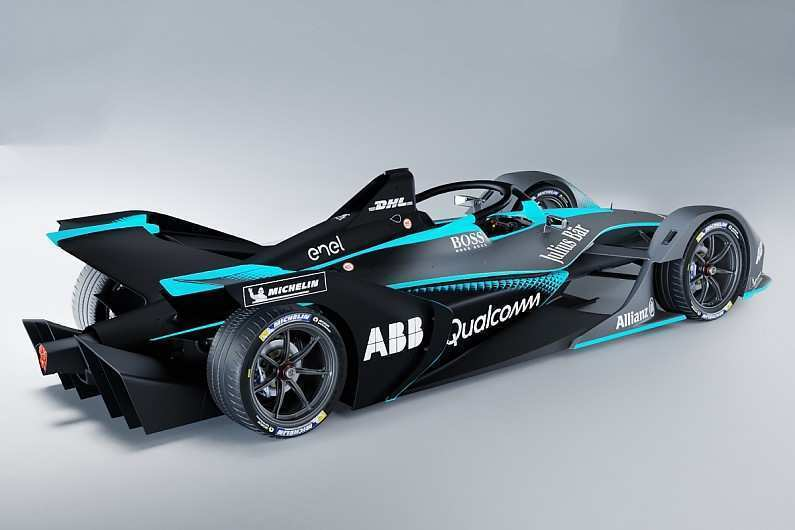 85 A Mercedes Formula E 2019 Photos