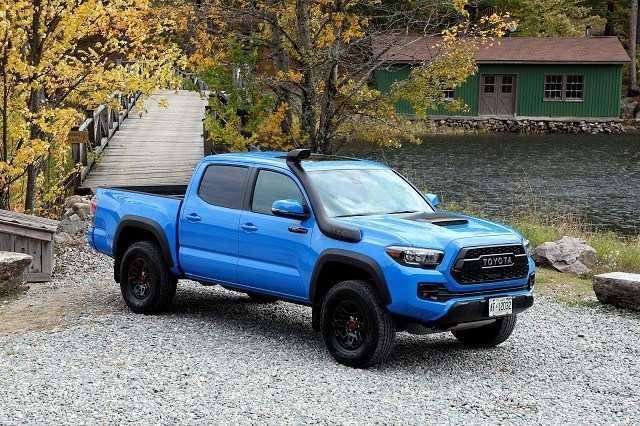 85 A Toyota Tacoma 2020 Colors Release Date