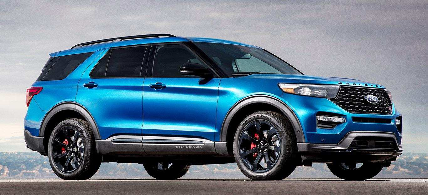 85 All New 2019 Ford Explorer Release Date And Concept