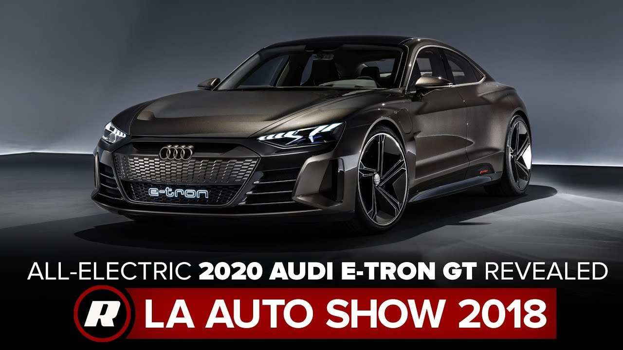 85 All New Audi Electric Vehicles 2020 Overview