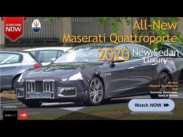85 Best 2020 Maserati Quattroportes Price And Review