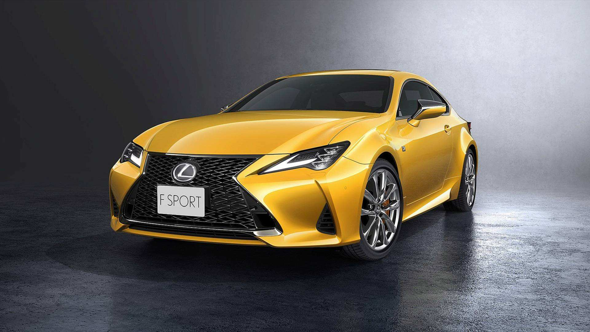 85 Best Lexus 2019 Coupe Redesign And Review