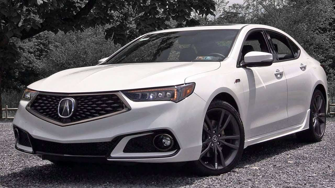 85 New 2019 Acura TLX First Drive