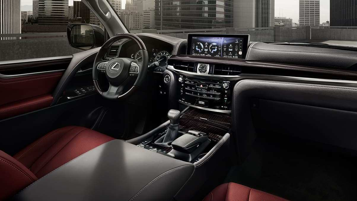 85 New Lexus Lx 2019 Interior Release