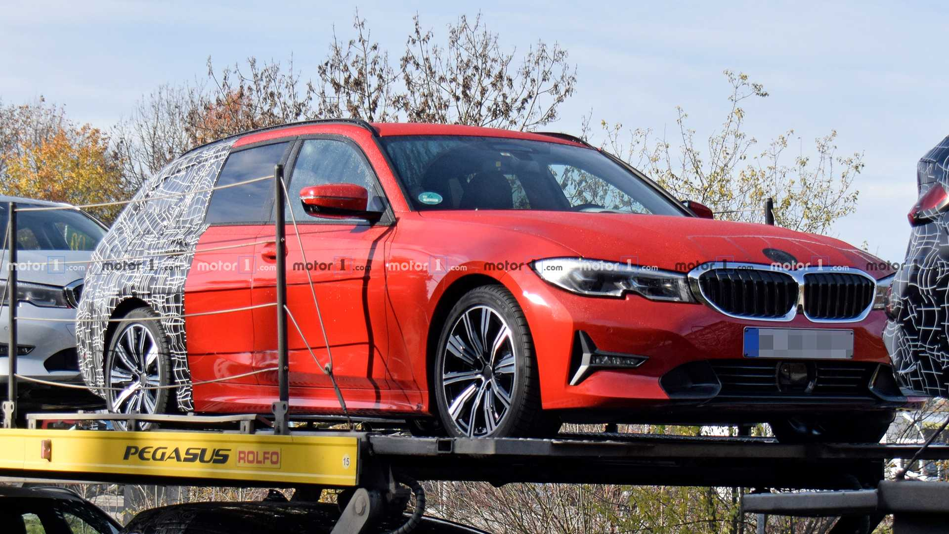 85 New Spy Shots BMW 3 Series Interior