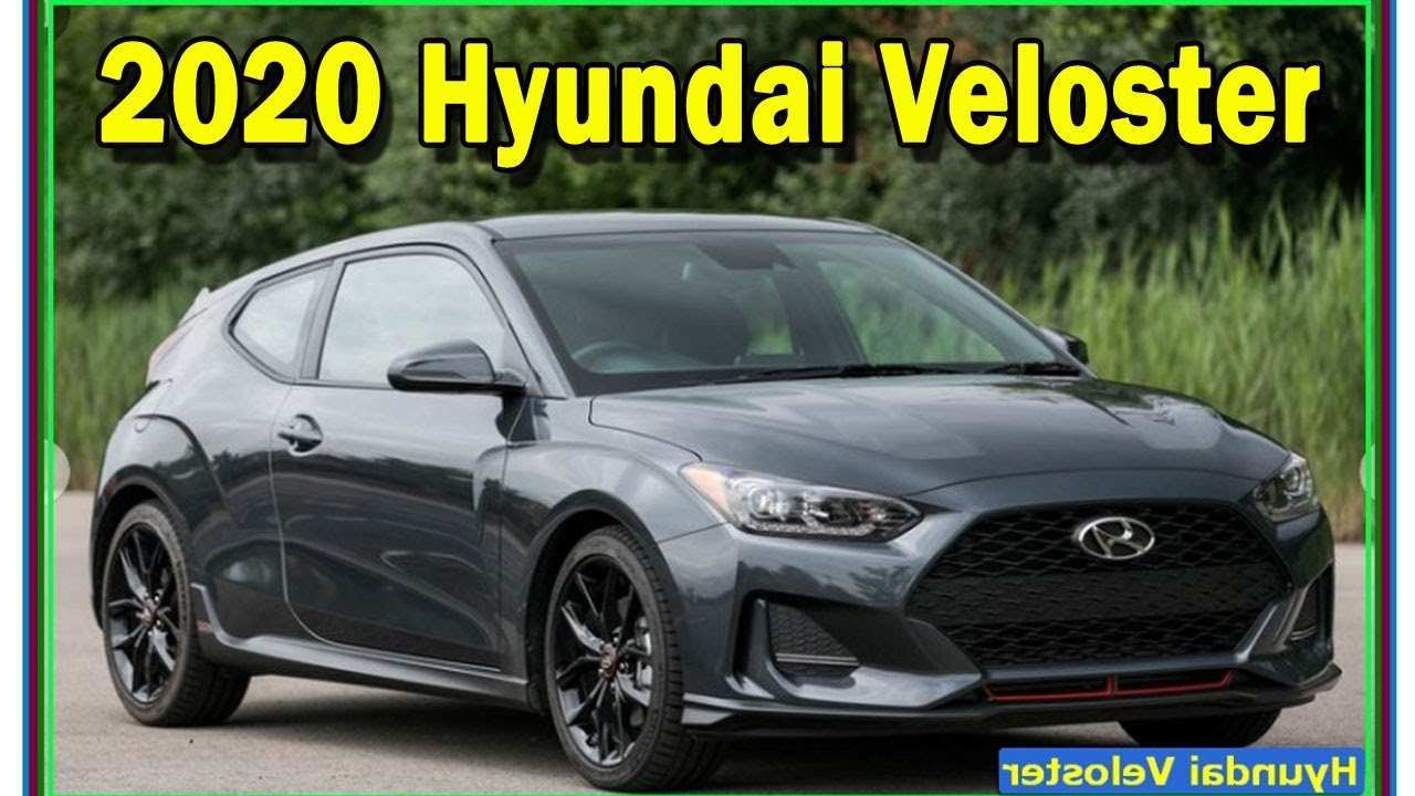 85 The 2020 Hyundai Veloster Turbo Release Date