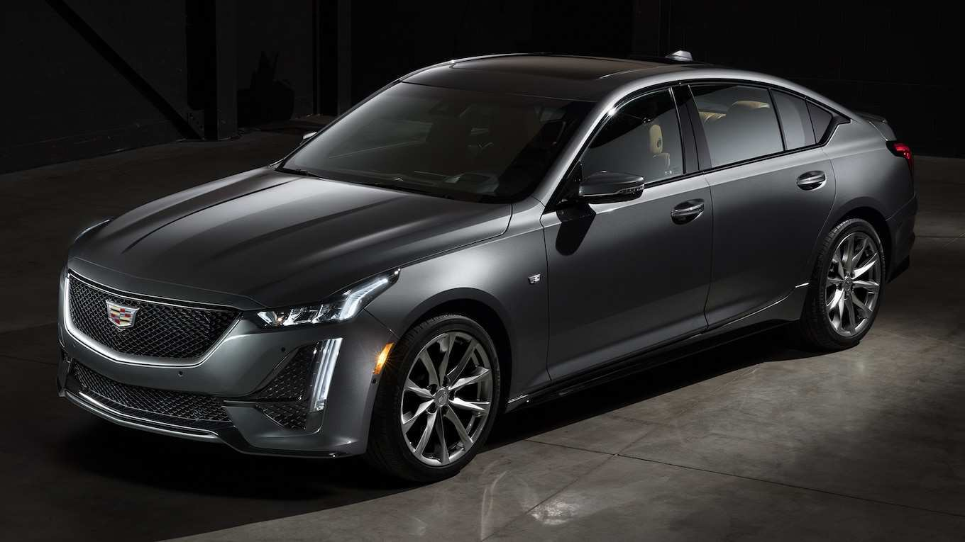 85 The Best 2019 Spy Shots Cadillac Xt5 New Review