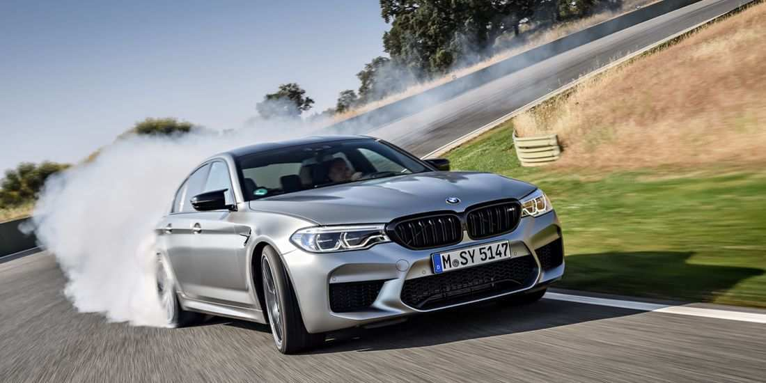 86 A 2019 BMW M5 Redesign