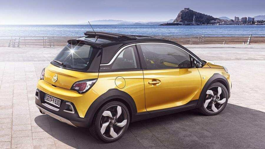 86 A 2020 Opel Adam Rocks Spesification