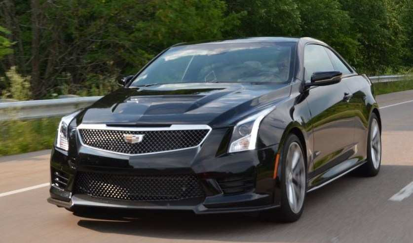 86 All New 2020 Cadillac ATS V Coupe Exterior
