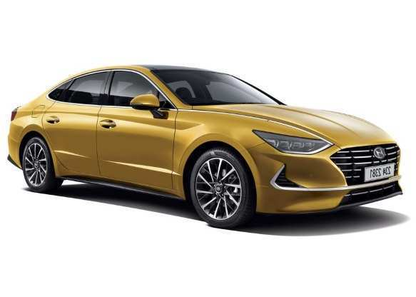86 All New 2020 Hyundai Sonata Yellow Picture