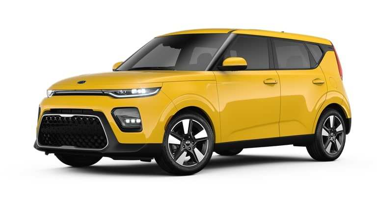 86 All New 2020 Kia Soul Solar Yellow Wallpaper