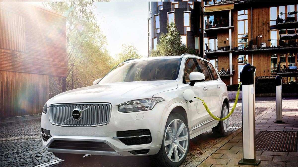 86 All New Volvo 2019 Electric Wallpaper