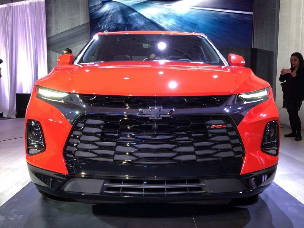 86 New 2019 Chevy Trailblazer Model