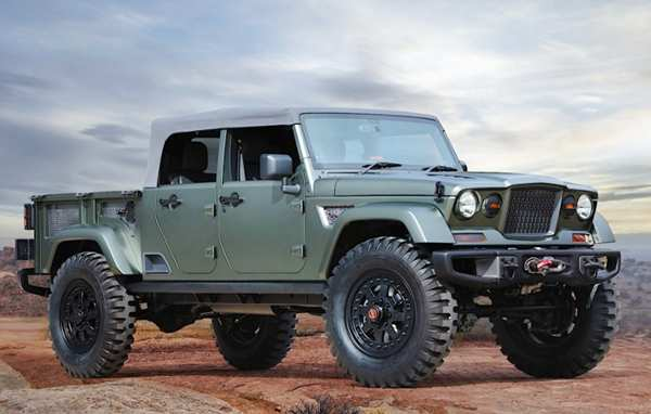 86 New Jeep Brute 2020 Redesign