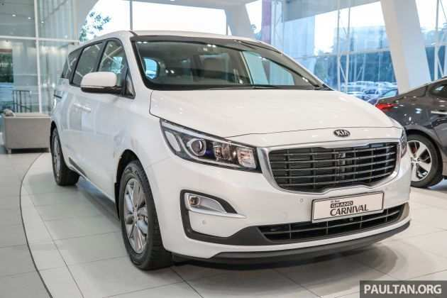 86 New Kia Grand Carnival 2019 Review Overview