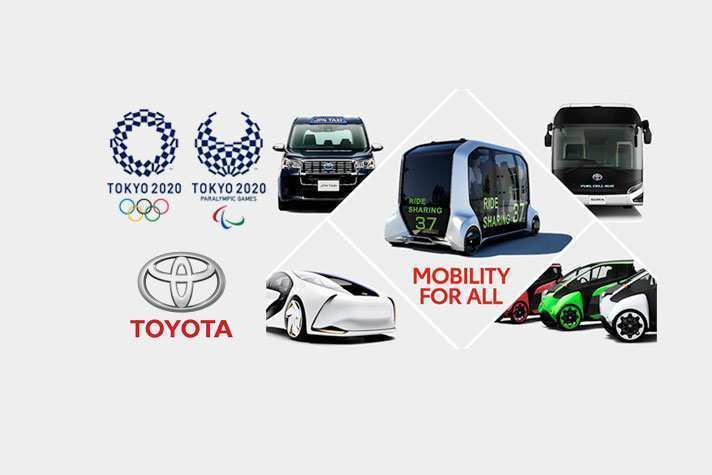 86 New Toyota Olympics 2020 Model